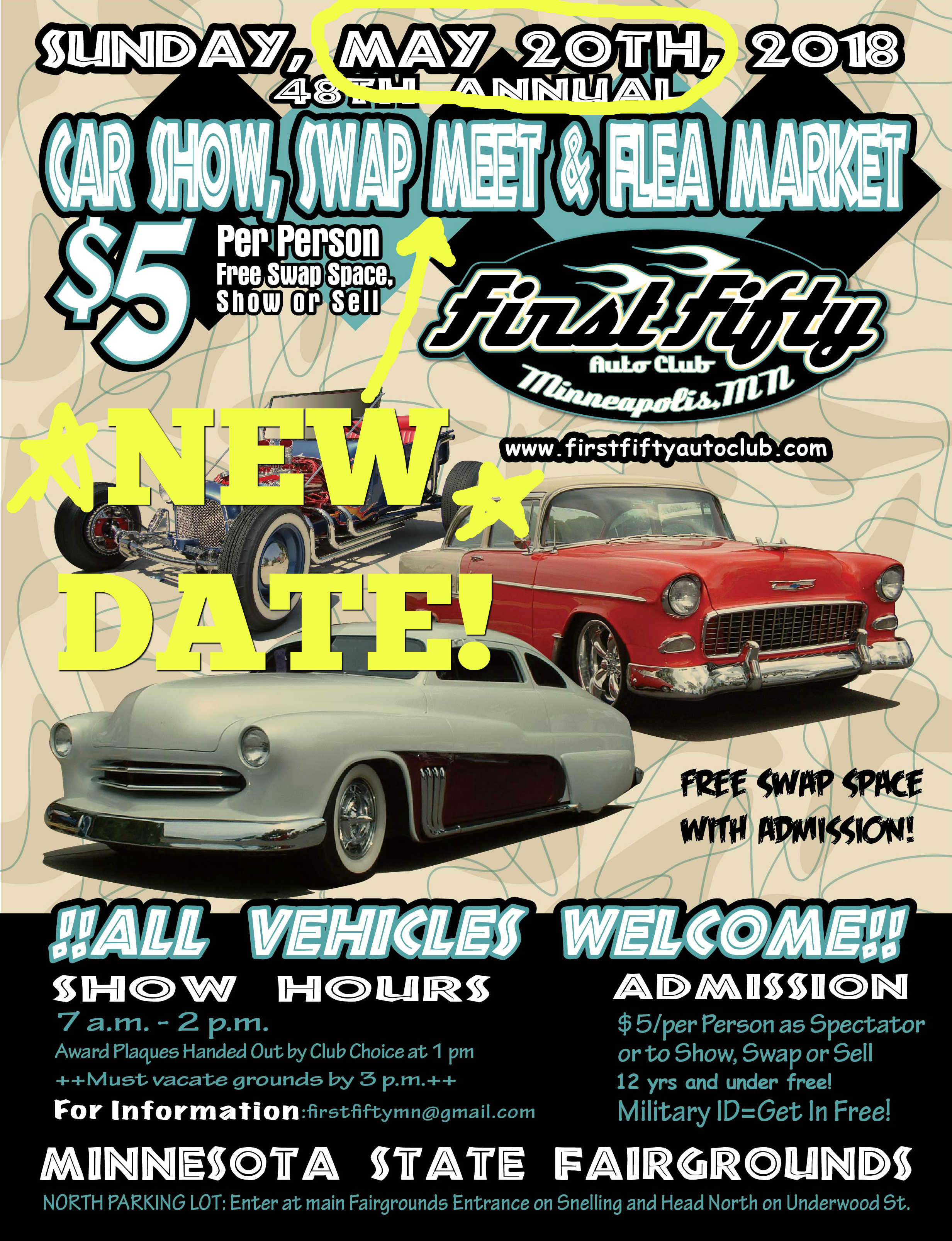 First Fifty Auto Clubs Th Annual Car Show Swap Meet And Flea - Car show plaques